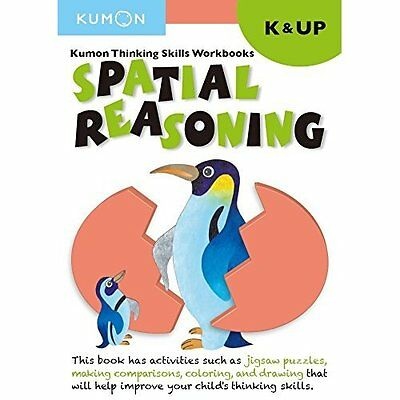 Kindergarten Spatial Reasoning (Thinking Skills Workboo - Paperback NEW Kumon (E