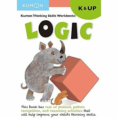Kindergarten Logic (Thinking Skills Workbooks) - Paperback NEW Kumon (Editor) 28