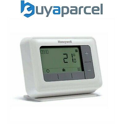 Honeywell T4R Y4H910RF4003 Wireless Thermostat 7 Day Programmable Optimum Start
