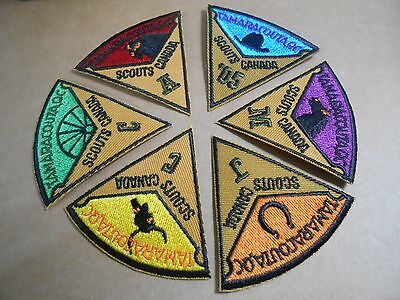 (Rv4-J) 1St Central Canada  Jamboree  2005 Ontario Jam 2A   Canada Scout Badge