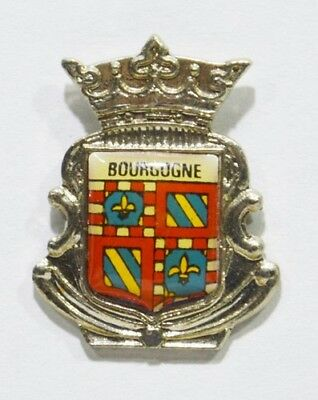 Pins Bourgogne Blason Metal Armoiries