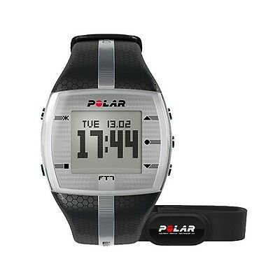 Orologio POLAR FT7 silver/black cardiofrequenzimetro fitness 90054890
