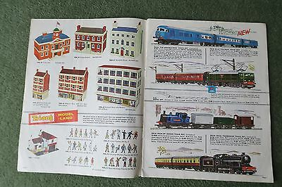 Hornby Tri-ang Model Railways Catalogue 1964 10th Edition OO HO Minic Triang