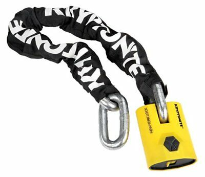 Kryptonite New York Legend 1590 Chain Bicycle Lock with 3 Foot Long Chain
