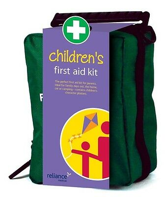 Children's First Aid Kit in Compact Zipped Soft Bag