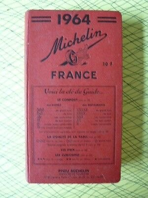Tres Beau Guide Rouge Michelin 1964