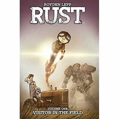 Rust Volume 1: Visitor in the Field - Paperback NEW Royden Lepp(Aut 25 Oct. 2016