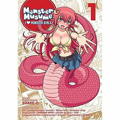 Monster Musume: I Heart Monster Girls Vol. 1 - Paperback NEW OKAYADO (Author 13
