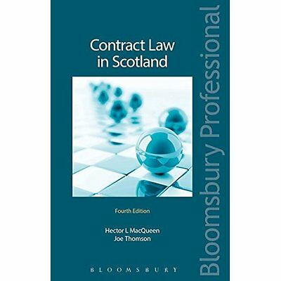 Contract Law in Scotland - Paperback NEW Hector MacQueen 23 Aug. 2016