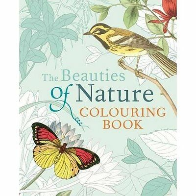 Beauties of Nature Colouring Book (Colouring Books) - Paperback NEW Arcturus Pub