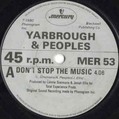 Don't Stop The Music 7 : Yarbrough & Peoples