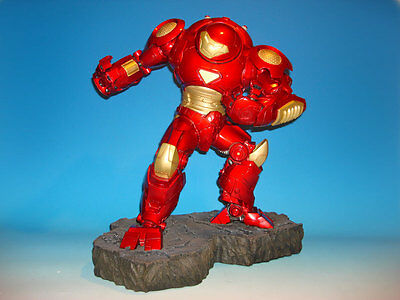 Sideshow Collectibles Iron Man Hulkbuster Comiquette Marvel Sample/1000 New MIB