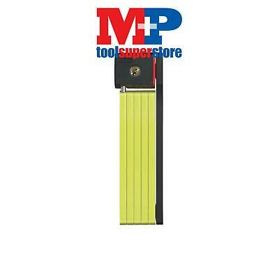ABUS Mechanical 570080L 5700/80 uGrip Soft Grip Bordo Lock Lime 80cm x 5mm