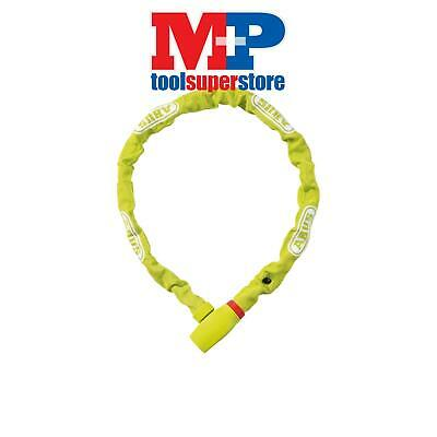 ABUS Mechanical 58575L 585/75 uGrip Soft Grip Cloth Cover Chain Lime 75cm x 5mm