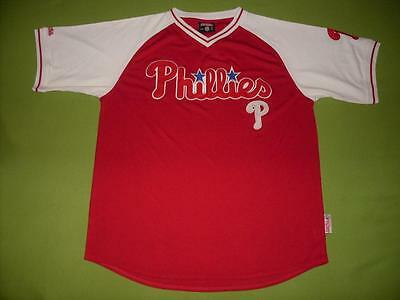 NEW Jersey PHILADELPHIA PHILLIES (L) STITCHES PERFECT !!!  Only ONE !!! MLB