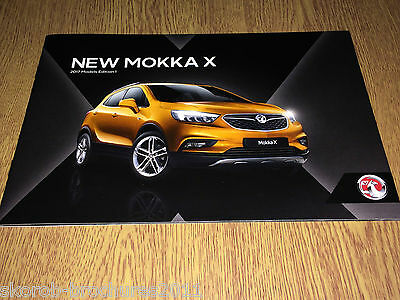 VAUXHALL - The New Mokka X Sales Brochure 2017 Edition 1