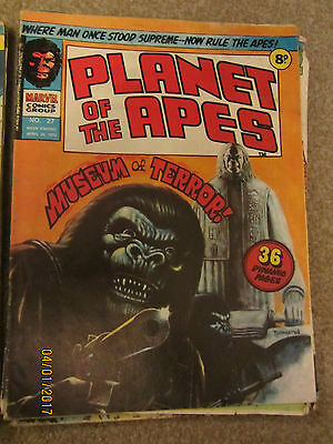 Marvel Comic Planet Of The Apes No 27 April 26Th 1975