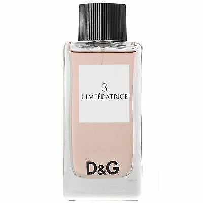 Dolce & Gabbana No 3 L'Imperatrice EDT Spray 100ml for women