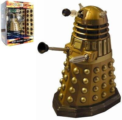 Scificollector Doctor Who Die Cast Collectable Gold Dalek - 5 inches tall