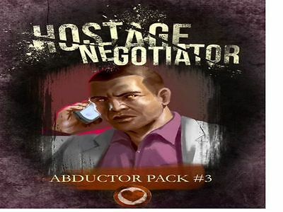 Hostage Negotiator Board Game - Abductor Pack 3