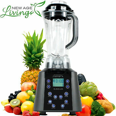 New 3.5Hp Digital Touch Pro Commercial Fruit Smoothie Blender Juice Mixer  .
