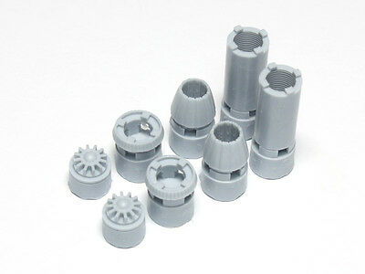 WOLFPACK WP72072 Nozzle Set for Hasegawa®/Revell® F/A-18E/F Super Hornet in 1:72