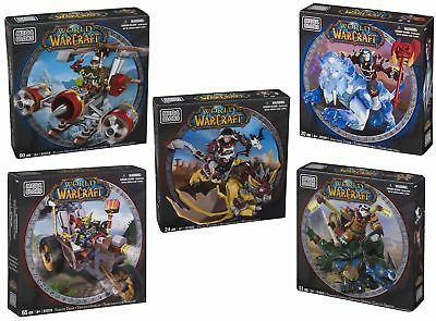 Mega Bloks World of Warcraft Figure Sets - 5 different to choose from! - NEW