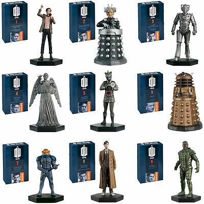 Doctor Who Eaglemoss Figures - Hand Painted 1:21 Scale Models - Collector Boxed