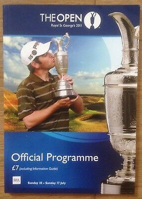 The Open Royal St George Official Program July 2007 Mint Condition