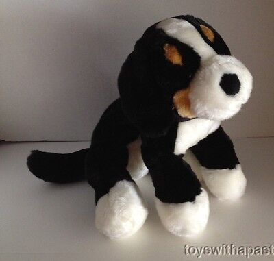 "Circo BERNESE MOUNTAIN Puppy Dog 12"" Plush Floppy Stuffed Animal Toy"