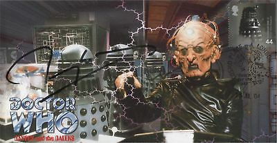 "RARE Doctor Who ""Davros and the Daleks"" Collectable Cover - Signed TERRY MOLLOY"