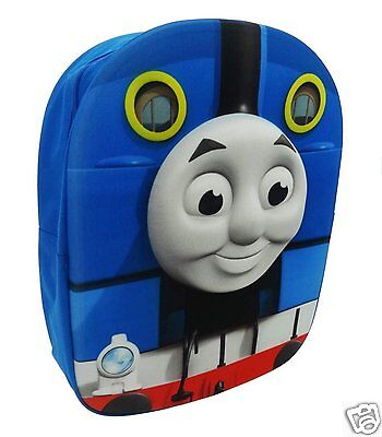 Thomas the Tank Kids 3D Shaped Backpack Rucksack School Bag - 8 Litres - NEW