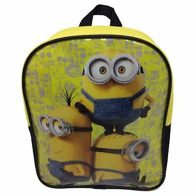 Despicable Me Minions Le Buddies School Backpack Back PackTravel Bag 40cmx32cm