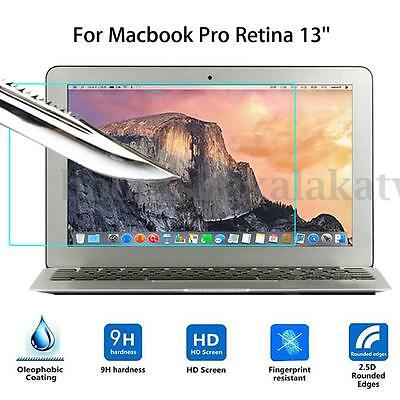 Tempered Glass Screen Protector Guard Film Cover For Macbook Pro Retina 13''