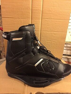 2014 Ronix Divide 10.5-14.5 Wakeboard Boots Black Excellent Condition