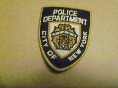 Police Department City of New York Shoulder Patch