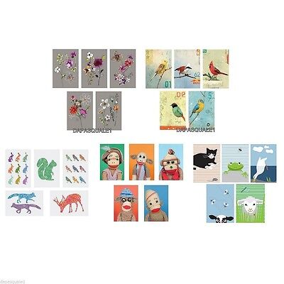 """IKEA KORT - Art Cards Prints Pack of 5 Pieces Assorted Models 4 x 6 """""""