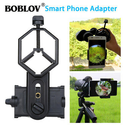 US Spotting Scope Mobile Phone Camera Holder Telescope Universal Stand Mount