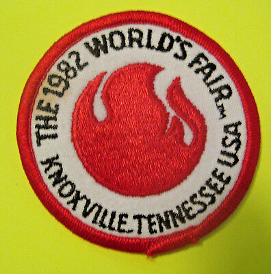 Vintage 1982 Knoxville Tennessee World's Fair Patch ~ L@@k ~