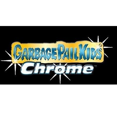 2013 Topps Garbage Pail Kids LOST CHROME 28 CARD COMPLETE SET Original Series 1