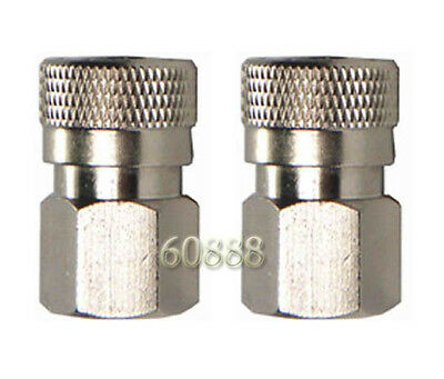 """2 x Paintball Female Quick Disconnect 1/8"""" NPT adaptor"""