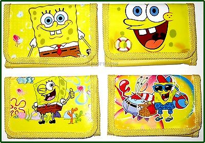 Brandnew Spongebob Squarepants Wallet boys coin Purse tri-fold new release