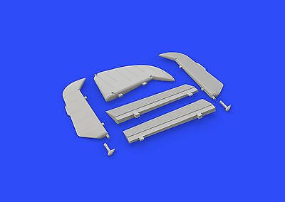 EDUARD BRASSIN 648310 Control Surfaces for Eduard Kit Bf109G in 1:48