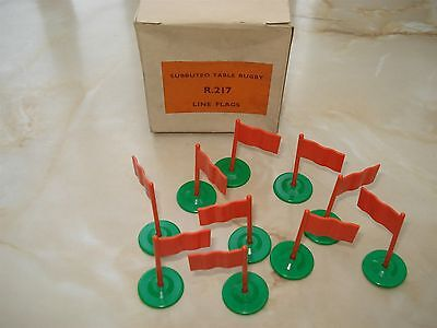 Subbuteo Rugby Flags - R 217 - Subbuteo Rugby Line Flags - Table Rugby Flags