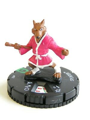 HeroClix Teenage Mutant Ninja Turtles - #012 Splinter - Shredder's Return