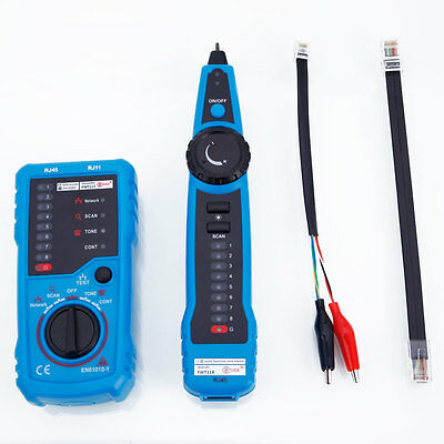 FWT11 RJ11 RJ45 Cable Telephone Network Cable Toner Wire Line Tracker Tester