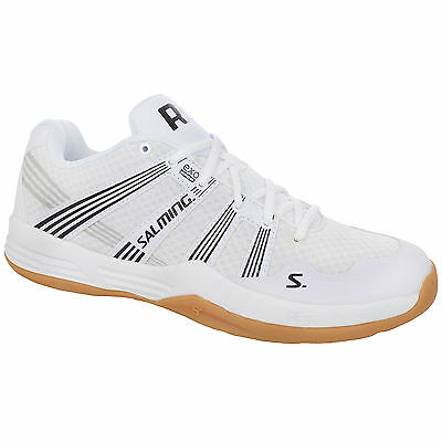 Salming Race R2 3.0 Mens Indoor Court Squash Shoes Trainers - White