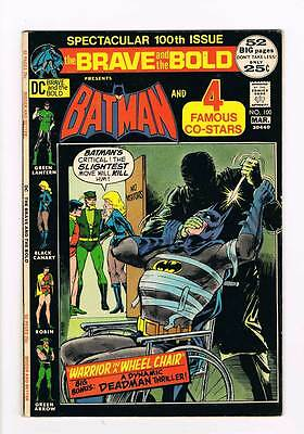 Brace & the Bold # 100  Batman Black Canary G.L.  grade 8.0 scarce book !!