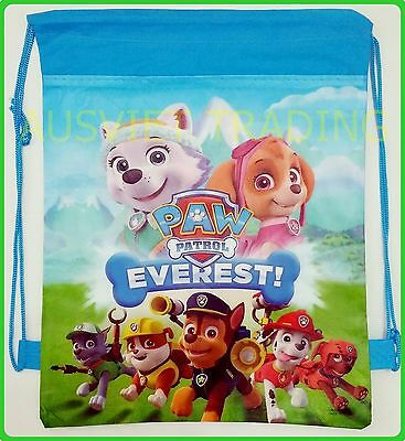 Brand new Paw Patrol Library kids Swim Beach drawstring Bag new styles