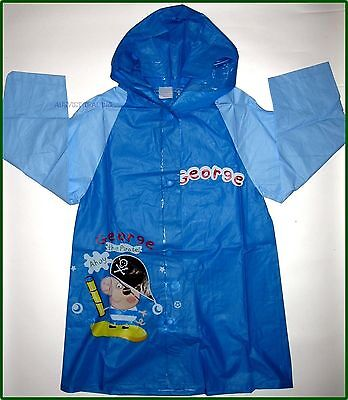 Brand new George Peppa Pig boys Raincoat new release rain coat